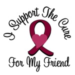 I Support The Cure Myeloma (Friend) T-Shirts