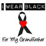 I Wear Black Ribbon  For My Grandfather T-Shirts