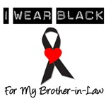 I Wear Black Ribbon For My Brother-In-Law T-Shirts
