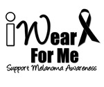 I Wear Black Ribbon For Me T-Shirts & Gifts