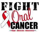 Fight Oral Cancer T-Shirts & Gifts