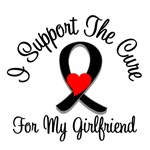 I Support The Cure Melanoma Girlfriend Shirts & Gi
