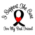 I Support The Cure Melanoma Best Friend Shirts