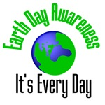Earth Day Awareness Shirts & Gifts