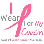 I Wear Pink For My Cousin Shirts & Tees