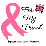 Breast Cancer For My Friend Shirts & Gifts