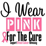 I Wear Pink For The Cure Shirts & Gifts