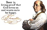 Ben Franklin on Beer