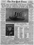 Titanic Sinks 4 Hours After Hitting Iceberg