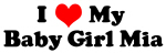 I Love Baby-Girl-Mia