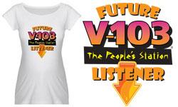 Future V-103 Listener Maternity Shirt