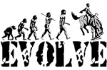 Cowboy Evolution T-shirts