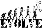 Juggling Juggler Evolution T-shirts