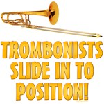 Trombonists Slide In To Position