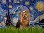STARRY NIGHT<br>With Yorkshire Terrier (#7)