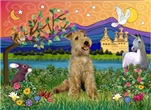 FANTASY LAND<br> & Lakeland Terrier