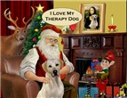 SANTA AT HOME<br>LABRADOR THERAPY DOG (Y)