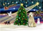 CHRISTMAS MAGIC<br>&Wheaten Terrier (#10)