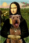 MONA LISA<br>With Airedale #3