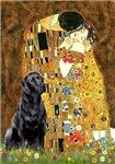 THE KISS<br>& Black Labrador Retriever