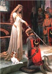 THE ACCOLADE<br>& Cavalier King Charles Spaniel