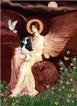 SEATED ANGEL<br>& Cavalier King Charles