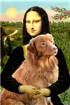 MONA LISA<br>& Nova Scotia Duck Tolling Retriever