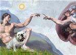CREATION<br>& White English Bulldog