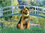 LILY POND BRIDGE<br> &  Border Terrier