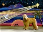 CHRISTMAS STAR<br>& Wheaten Terrier (#2)