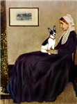 WHISTLER'S MOTHER<br>& Rat Terrier