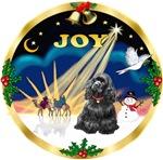 CHRISTMAS SUNRISE<br>& Cocker Spaniel