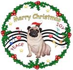 CHRISTMAS MUSIC 1MC<br>& Pug