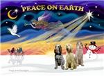 CHRISTMAS SUNRISE<br>& 3 Italian Spinones