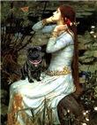 OPHELIA <br>& Black Pug #17