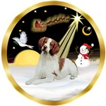 NIGHT FLIGHT<br>& Brittany Spaniel