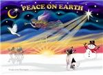 CHRISTMAS SUNRISE<br>& Toy Fox Terrier
