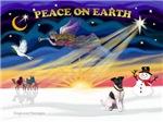 CHRISTMAS SUNRISE<br>& Fox Terrier (smooth)