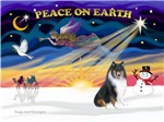 CHRISTMAS SUNRISE<br>& Collie