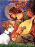 MANDOLIN ANGEL<br>& Sealyham Terrier L1