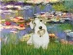 LILIES (#2)<br>& Sealyham Terrier L2