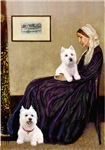 WHISTLER'S MOTHER<br>& Her Two Westies
