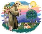 St. Francis #2 & Pekingese (#1)
