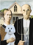Famous Farmer Couple <br>With a Maltese (B)