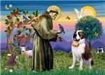 Saint Francis #2<br>& Saint Bernard