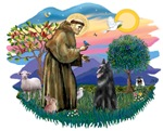 St. Francis #2 &<br> Belgian Shepherd
