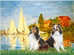 REGATTA AT ARGENtIEUL<br>& Two Shetland Sheepdogs