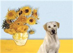 SUNFLOWERS<br>Yellow Labrador 7