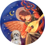 Shih Tzu (P)<br>Angel With Mandolin