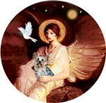 Yorkshire Terrier (#13)<br>& Seated Angel